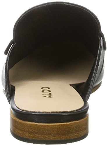ALDO Damen shahan Pantoletten Schwarz (97 Black Leather)