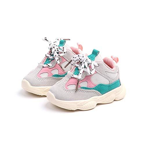 koperras Jungen Schuhe Kinderschuhe MäDchen Weichen Boden Farblich Passende SchnüRsenkel Laufschuhe Freizeitschuhe Agan Schuhe Tuch Atmungsaktiv Wild Bequeme Mode