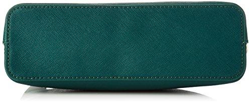 TWIN SET Aa7pdx, Pochette da Giorno Donna, 7x13x22 cm (W x H x L) Verde (Eucalipto)