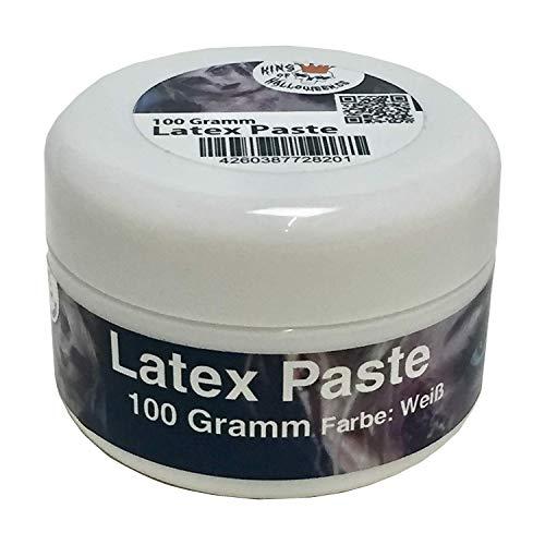 King of Halloween-Latex Paste-weiß-100grHalloween Make up, Halloween Schminke, Zombie, zum Wunden und Narben herstellen,eine Variante von der ()