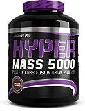 Biotech USA Hyper Mass 5000 Ganador de Peso y Carbohidratos Sabor Vainilla - 2270 gr