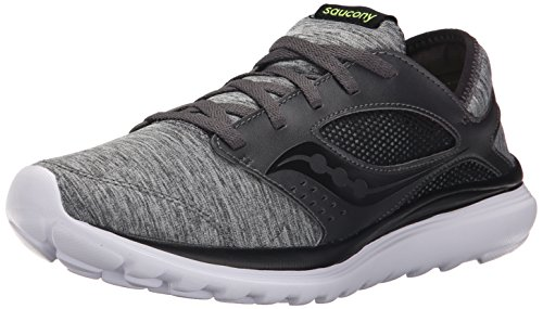 Footwear Saucony Mens Grey Black Kineta Mens Relay Granite 061 UIqxIZrv