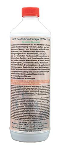 A.K.B. FORTE SanitärGrundreiniger EXTRA STARK, 5581,(1 L)