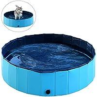 Asocea Faltbare Katze Schwimmbad Pool Welpen Baden Badewanne Für