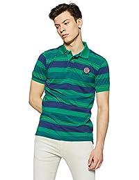 Peter England Men's Plain Regular Fit T-Shirt