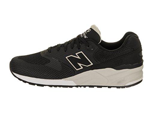 New Balance Lifestyle 999 Unisexe Adulte, Tela, Sneaker Bassa Synthétique Noir