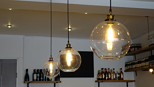 FEVEN-MODERN-VINTAGE-INDUSTRIAL-RETRO-LOFT-GLASS-CEILING-ROUND-SHADE-PENDANT-LIGHT-BULB-INCLUDED