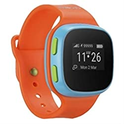 KIDSWATCH ORANGE BLUE ACCS 2G GPS OCATOR IPS 65 IN