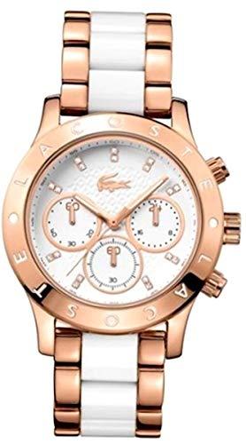 Lacoste Damen-Armbanduhr CHARLOTTE Analog Quarz verschiedene Materialien 2000911