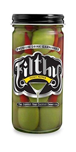 Filthy Foods Oliven gefüllt mit Pfeffer 8 oz