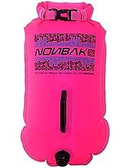 Boya estanca NONBAK ROSA 28 litros Talla M --Natación aguas abiertas .Dirigida a nadadores y triatletas-