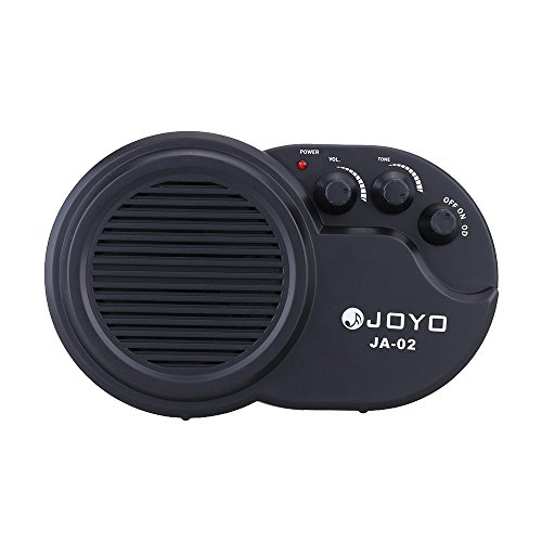 JOYO JA-02 Mini-Gitarre, elektrisch, 3 W, Amp-Verstärker, mit Lautstärkeregler (Mini Amp Gitarre)