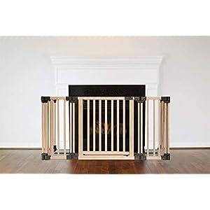 Salvachispas para chimeneas de madera con múltiples paneles Safetots 49D x 120W CM