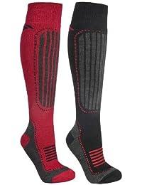 Trespass Langdon Mens 2 Pack (2 pairs) Thermal Winter Ski Sock