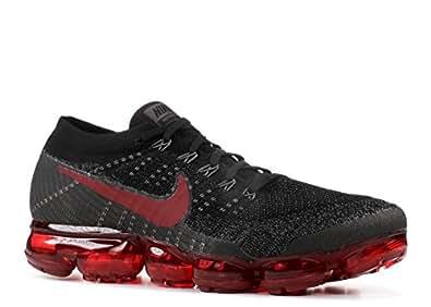 half off 8fdc7 2debd Nike Men's Air Vapormax Flyknit Black/Dark Team Red/Midnight ...