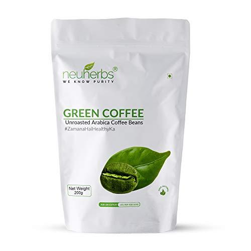 Green Coffee Beans 200 Gm (7.05 Oz)