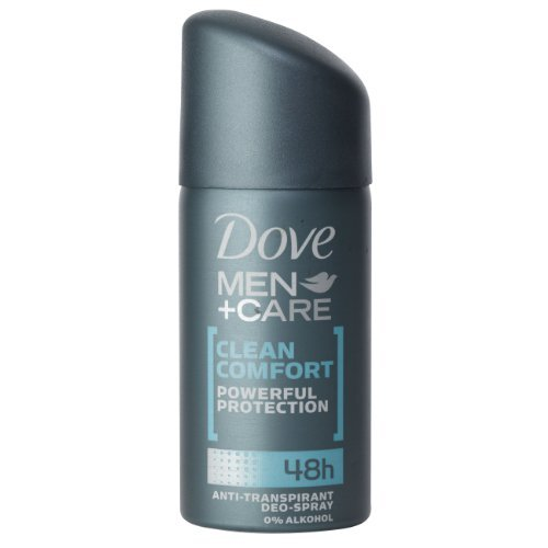 5Pack Dove Men + Care Reise-Deo Spray Clean Comfort 5x 35ml (Dove Reisen)