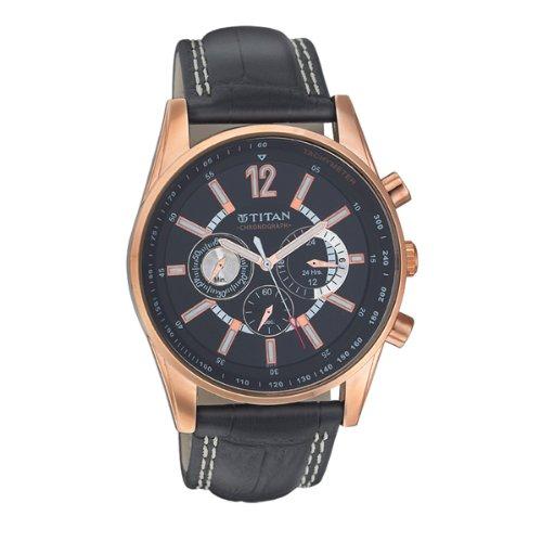 ae06682826 25% OFF on Titan Octane Chronograph Black Dial Men's Watch -NK9322WL02 Buy  Titan Octane Chronograph Black Dial Men's Watch -NK9322WL02 from Amazon.in!  on ...