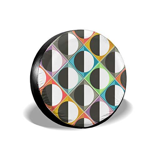 Zara-Decor Eclipse Diamonds - Copertura Universale per Ruota di scorta per rimorchi, Camper, SUV e Molti Veicoli, Diametro 58,4-68,6 cm