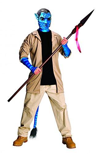 Deluxe Jake Sully Avatar Aufbruch nach Pandora Kostüm für Herren Herrenkostüm Gr. XL, M/L, (Kostüme Sully Erwachsene)