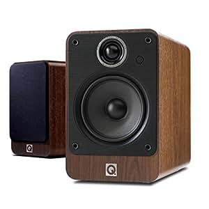 Q Acoustics 2020i Speakers–Universal (2-Way, 75W), Walnut