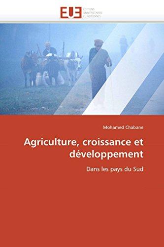 Agriculture, croissance et développement