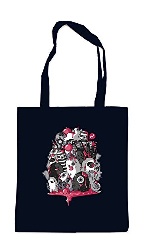 Horrorfilm Handtaschen (Monster Party Bag Black Certified Freak)