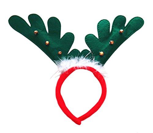 Outgeek Fasce di partito Antlers archetto Natale
