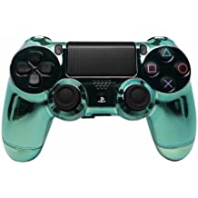 """""""Chrome Green Crystal"""" PS4 Custom Modded Controller Exclusive Design - COD Re..."""