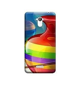 Ebby Premium Printed 3D Designer Back Case Cover For CoolPad Note 3 (Premium Designer Cae)