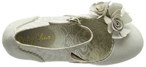 Ruby Shoo - Emily, Scarpe col tacco Donna Oro (Gold (Cream/Gold))