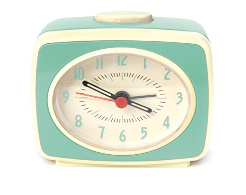 Kikkerland AC14-MN - Reloj Despertador clásico