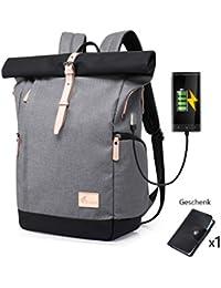 Cornasee Wasserdicht Laptop Rucksack 15,6 Zoll für Männer und Frauen Diebstahlsicherung Tagesrucksack Schulrucksack College-Rucksack,große Kapazität 30L