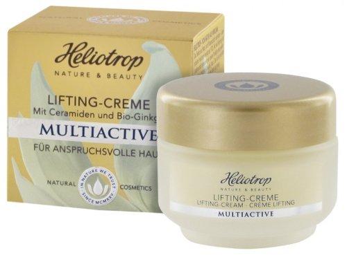 HELIOTROP Naturkosmetik MULTIACTIVE Lifting-Creme, Mit einem exquisiten Wirkstoffkomplex, Mit...