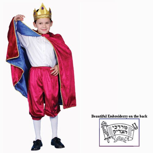 Dress Up America Deluxe Purim Char Kostüm Set ()
