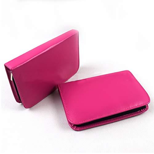 58-teiliges, tragbares Nähzeug-Fadenschere-Bandstift-Fingerhut-Nadel-Set für die Reise nach Hause (Color : Rose Red)