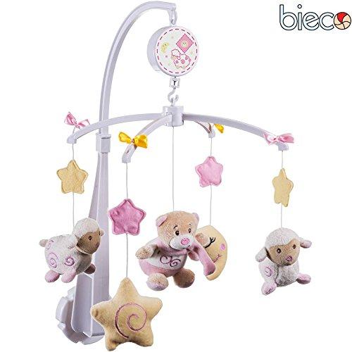 Musikmobile Peti, Guten Abend Melodie, beruhigend, für Babys ab 0 Monaten: Baby Mobile mit Spieluhr Babyspieluhr Musik Babymobile für Babybett