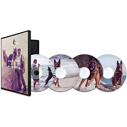 Educator Erzieher He 's Not Friendly Aggressive/Reactive Hund Training DVD Set (4DVD 's) (Dog E-collar Training)