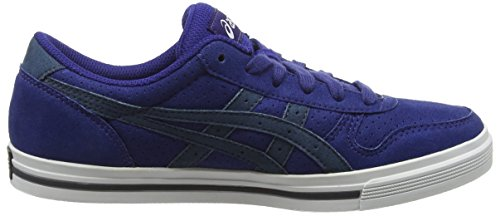 Asics Aaron, Baskets Basses Mixte Adulte Blue (Blue Print/India Ink)