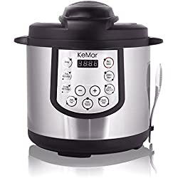KeMar KPC-150pentola/veloce elettrico/Multi elettrico elettrico/Pressure Cooker/senza BPA