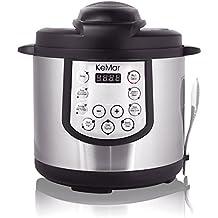 KeMar KPC-150 Elektrischer Schnellkochtopf / Schnellkocher / Multikocher / Pressure Cooker / BPA-frei