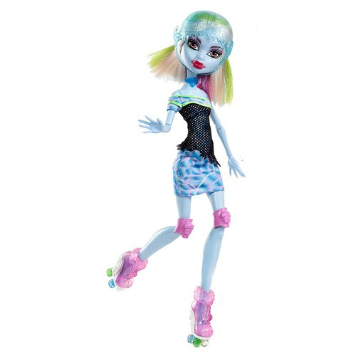 Monster High - X3671 - Poupée- Sports - Roller Maze - Abbey Bominable