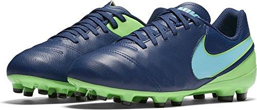 Nike  819186-443, chaussures de football garçon Bleu