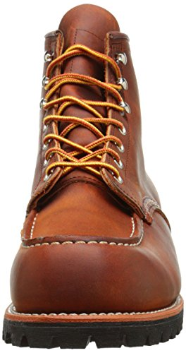 Red Wing Mens Roughneck 2942 Leather Boots Copper