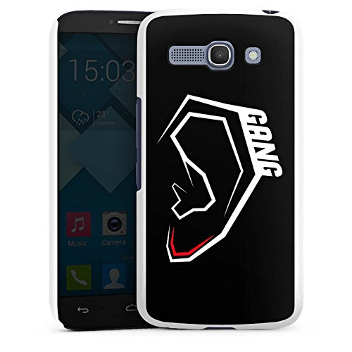 Alcatel One Touch Pop C9 Hülle Case Handyhülle moji ohrlaeppchengang Youtuber