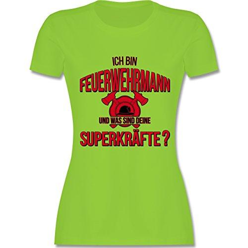 Feuerwehr - Ich bin Feuerwehrmann - Was sind deine Superkräfte - tailliertes  Premium T-Shirt