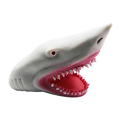 STOBOK Juguete Marioneta Tiburón Goma Juguete NIños