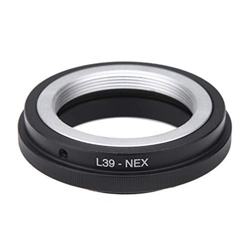Hehilark Anneau Adaptateur d'objectif d'appareil Photo L39-NEX L39 M39 Monture d'objectif LTM Autour pour Sony NEX 3 5 A7 E A7R convertisseur A7II vis L39-NEX