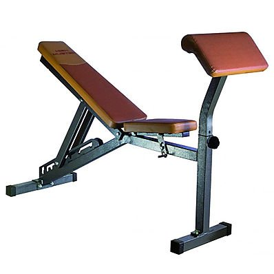 Panca manubri Multi Bench High Power Muster pesi pesistica home fitness palestra