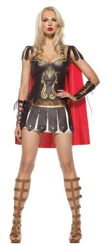 Leg Avenue - 3-teilig - Warrior Princess Kostüm - L - Braun - 83454